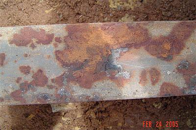 corrosion severity factor